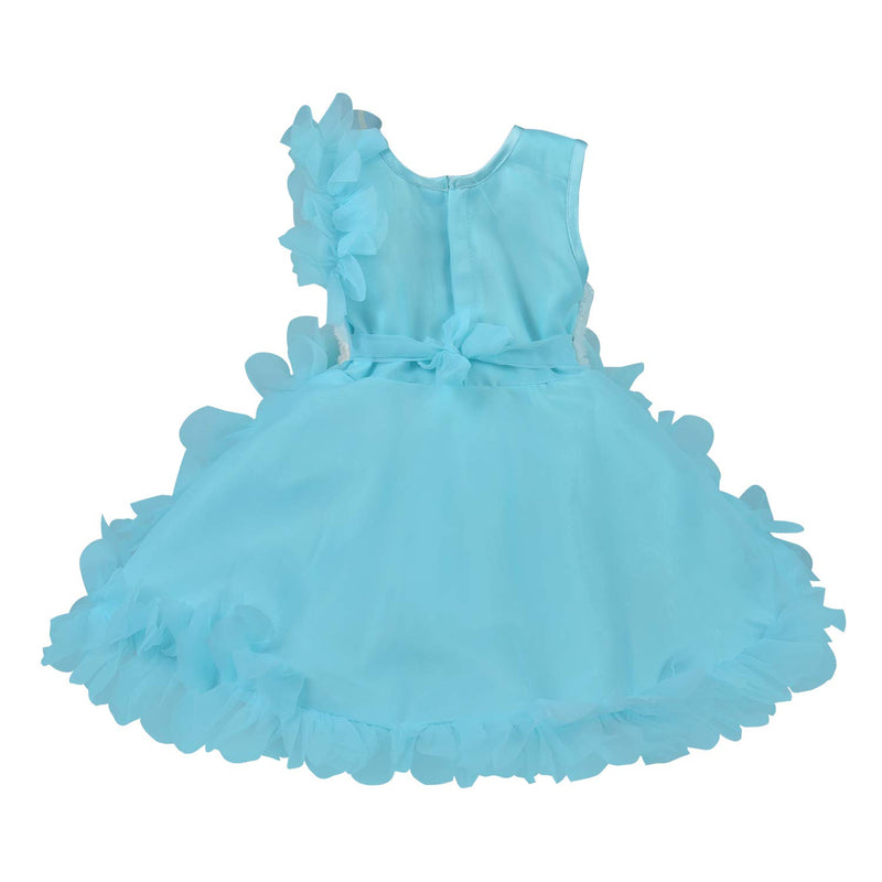 Baby Girls Party Wear Frock Birthday Dress For Girls fe2709blu