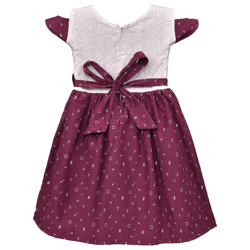 Baby Girls Cotton Frock Casual Dress for Girls ctn325mrn