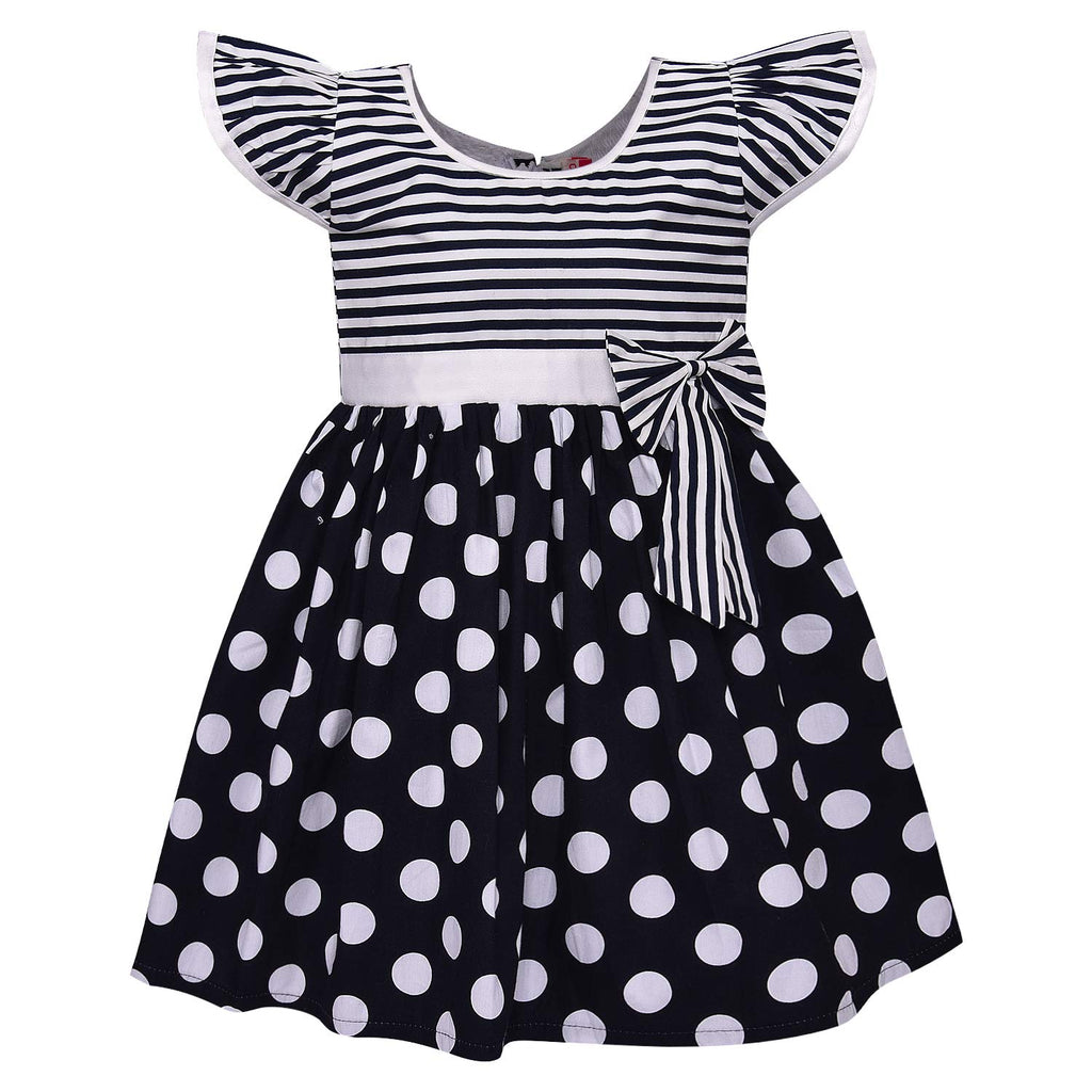 Baby Girls Cotton Frock Casual Dress for Girls ctn270w