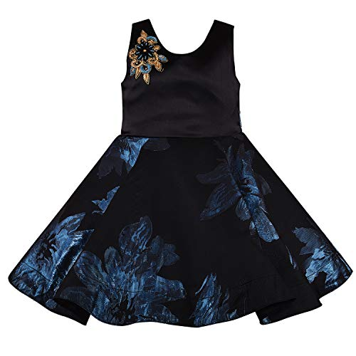 Baby Girls Frock Dress-fe1006blu