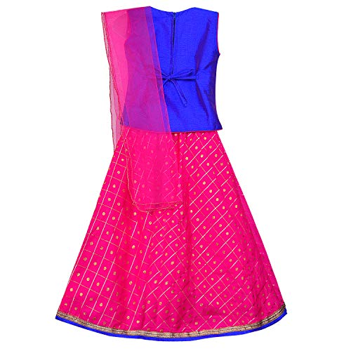 Baby Girl's Stitched Ghaghra Choli, Leghnga Choli, Chania Choli Ethnic Wear for Girls-gc201rb