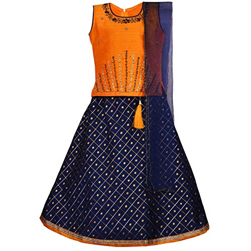 Baby Girl's Stitched Ghaghra Choli, Lehnga Choli, Chania Choli Ethnic Wear for Girls-gc201y