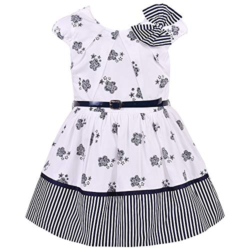 Baby Girls Cotton Dress Frock-bxa257nb
