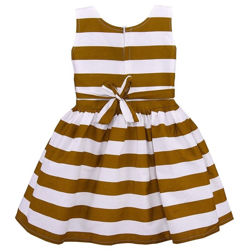 Baby Girls Cotton Frock Casual Dress for Girls ctn265bwn