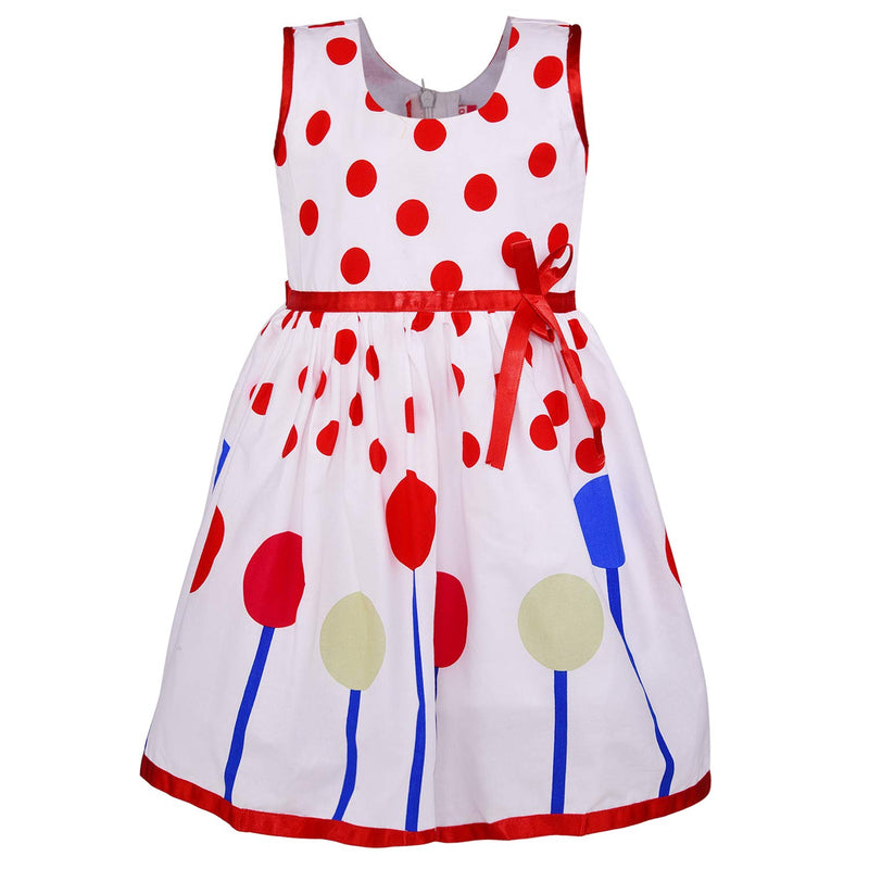 Baby Girls Cotton Frock Casual Dress for Girls ctn292t