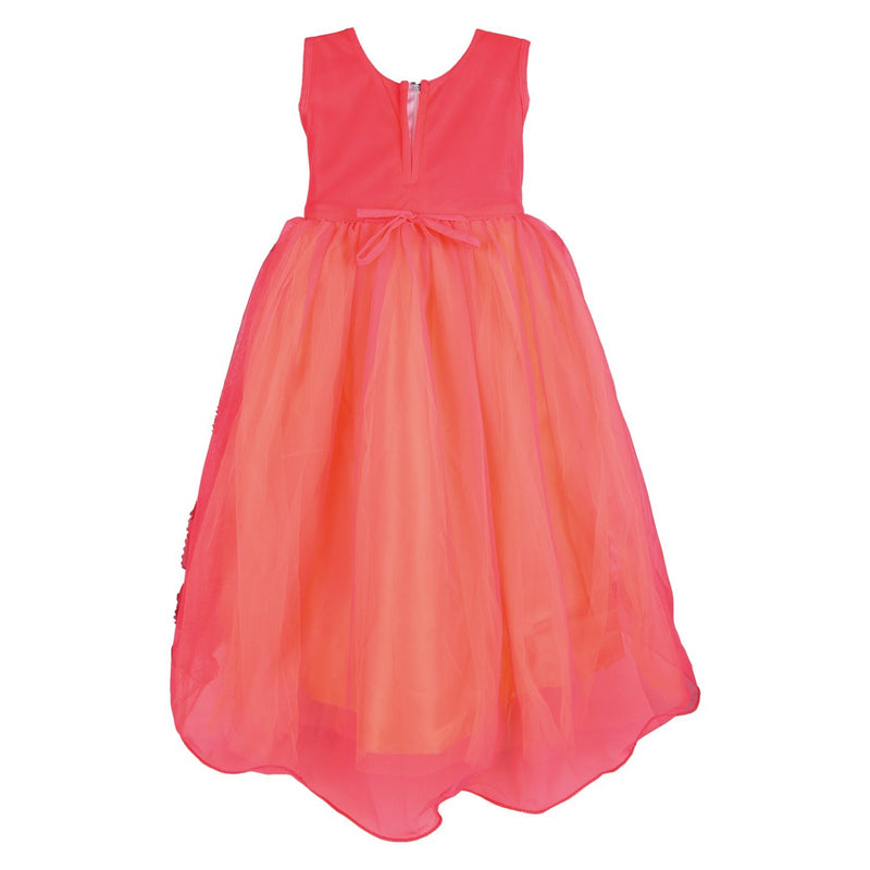 Girls Long Frock LF57t -  Wish Karo Dresses