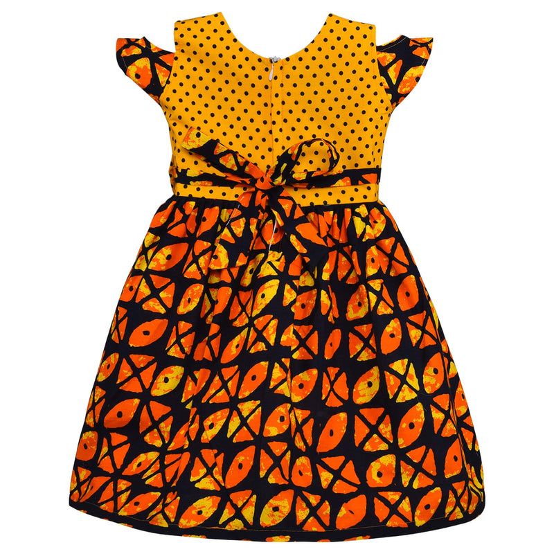 Baby Girls Cotton Frock Causal Dress for Girls ctn359y