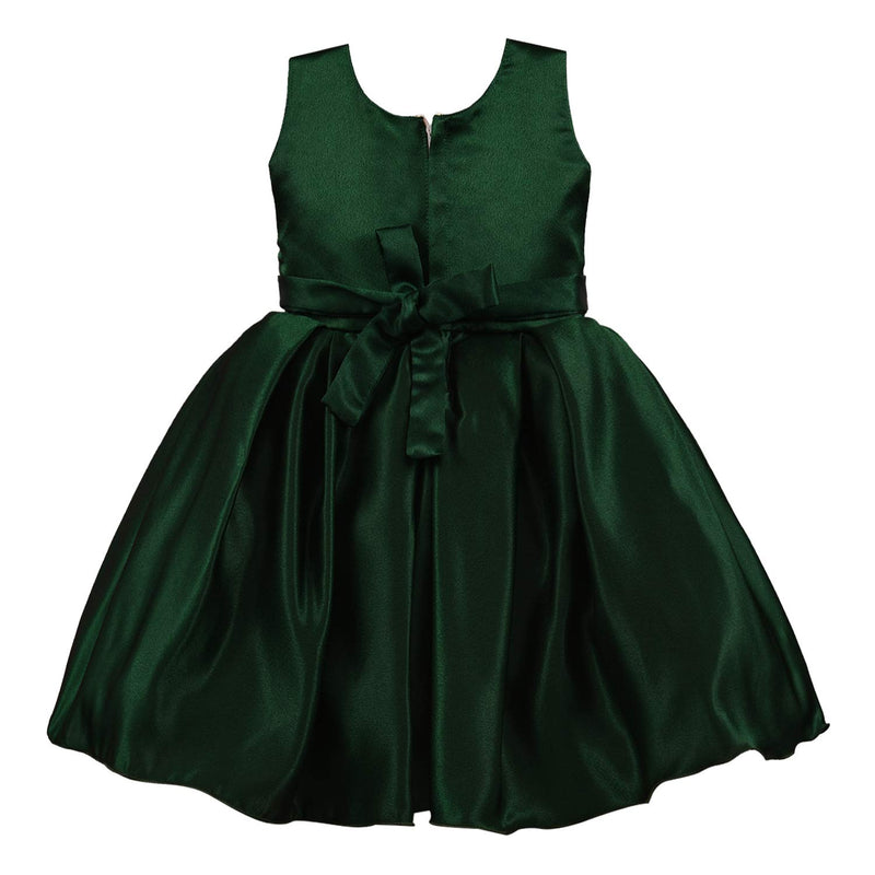 Baby Girls Party Wear Dress Birthday Frocks For Girls bxa206grn