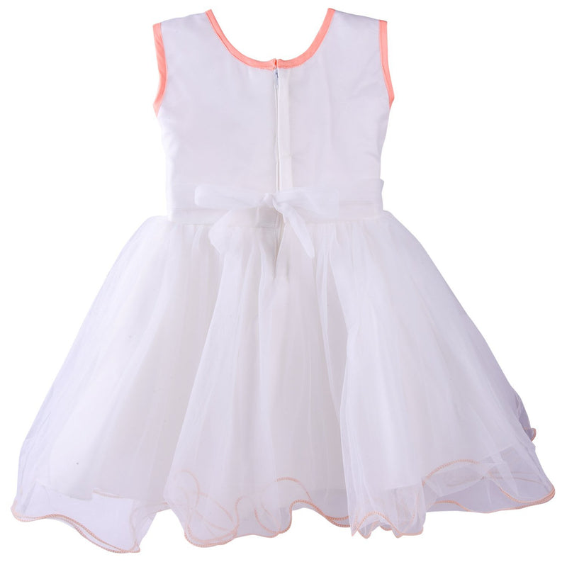 Baby Girls Frock Dress DN bx53pnk -  Wish Karo Dresses