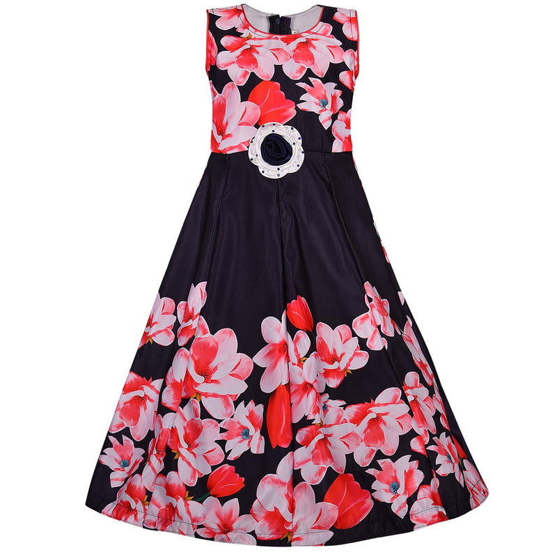 Girls Party Wear Gown  Birthday Dress  for Girls LF185t