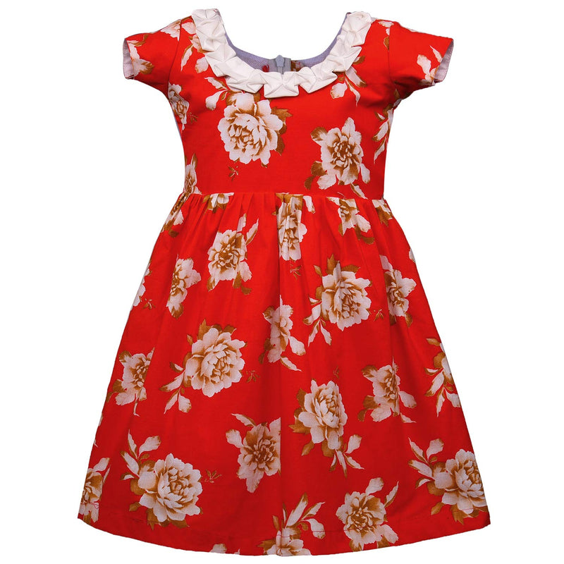 Baby Girls Cotton Frock Casual Dress for Girls ctn301rd