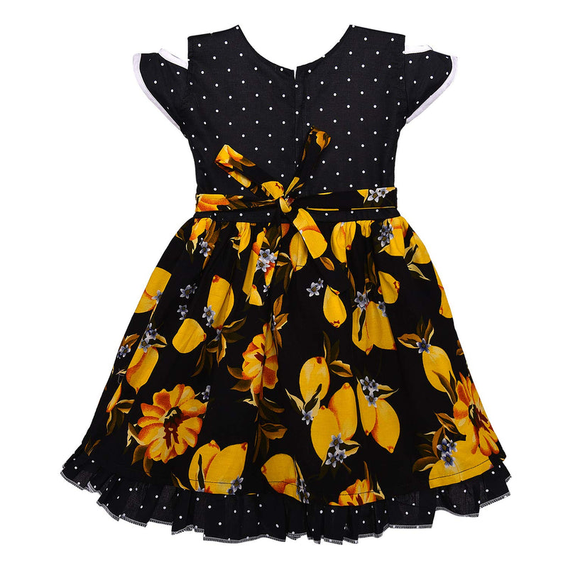 Baby Girls Cotton Frock Casual Dress for Girls ctn338y