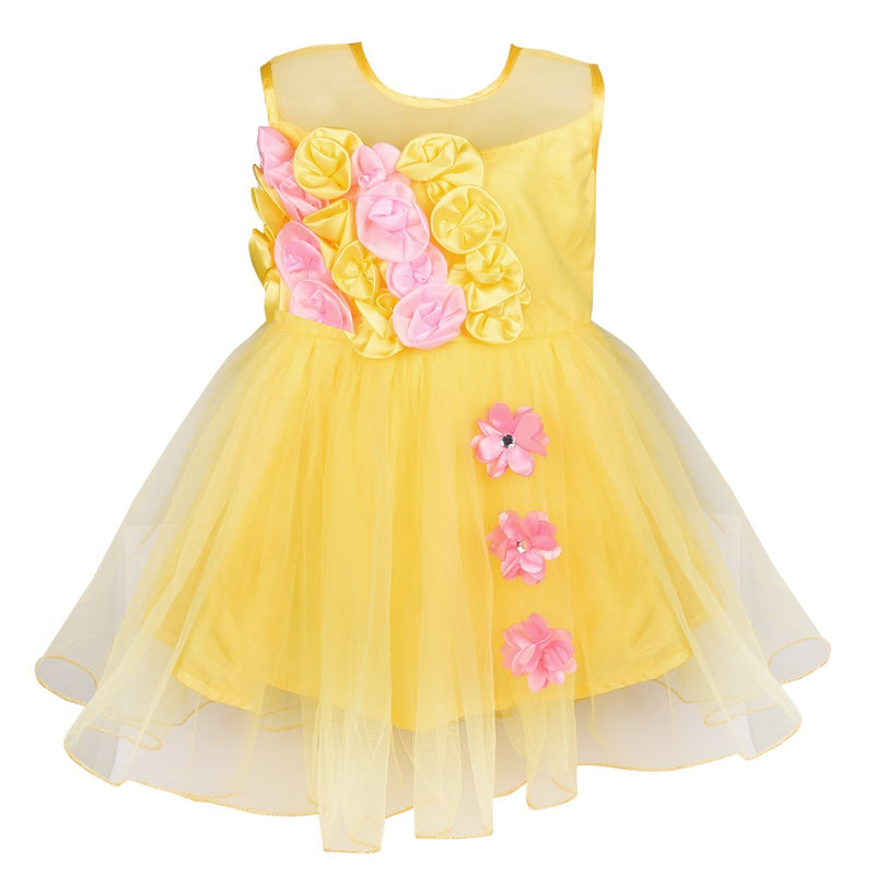 Baby Girls Party Wear  Dress Fe 2161y -  Wish Karo Dresses