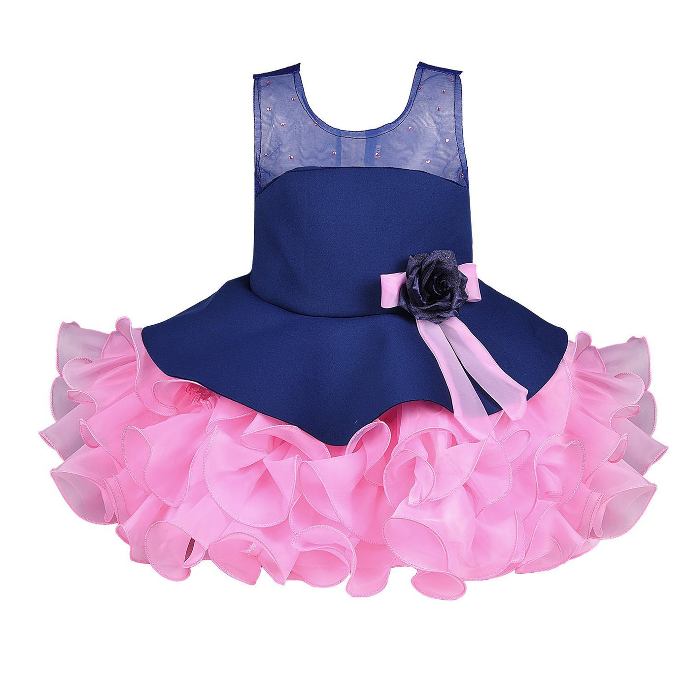 e8e14c957acd Baby Girls Party Wear Frock Dress Bxa158nb - Wish Karo Dresses ...