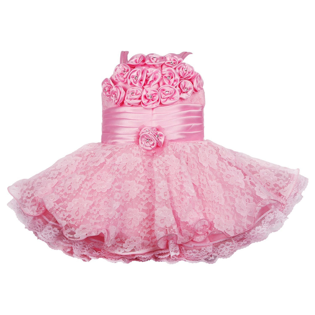 Girls Party Wear Frock Dress DN 2104 -  Wish Karo Dresses