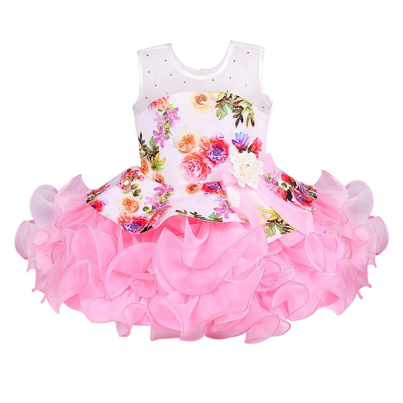Baby Girls party wear Frock Dress Bxa158p -  Wish Karo Dresses