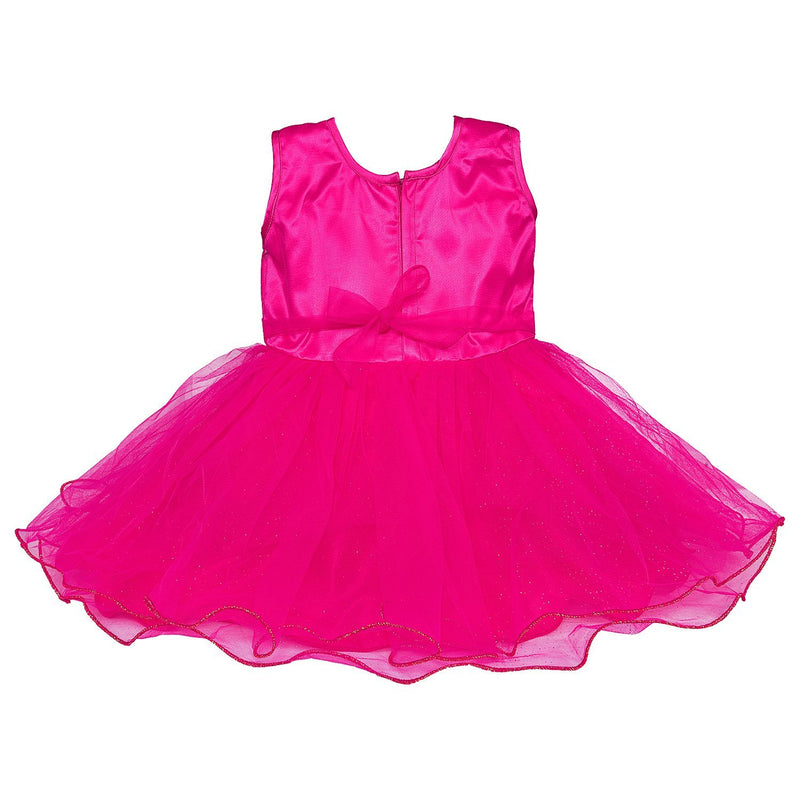 Baby Girls Party Wear Frock Dress Fe1051pnk -  Wish Karo Dresses