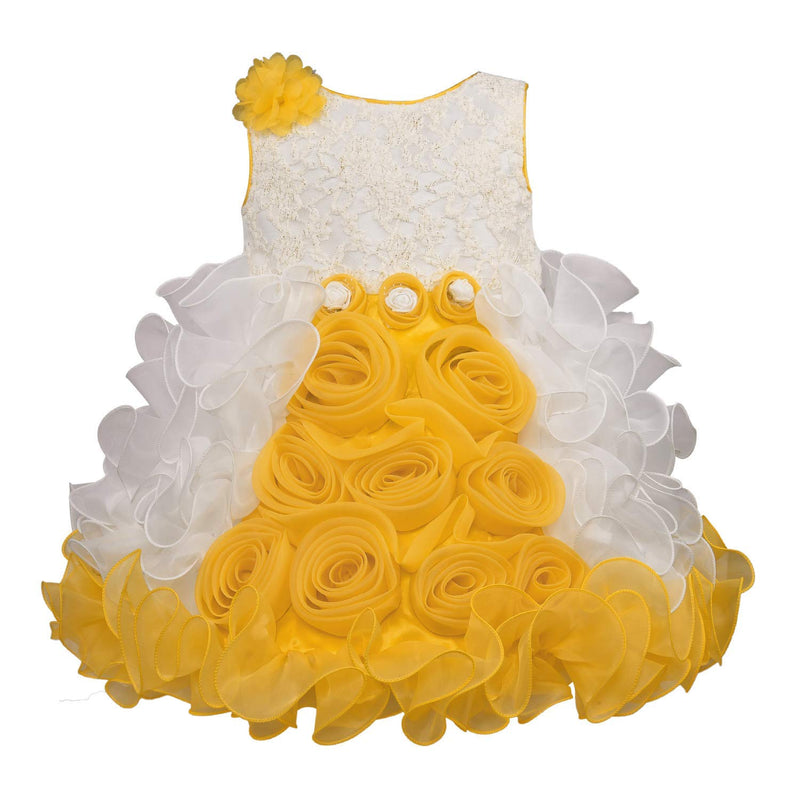 Baby Girls Party Wear Frock Dress bxa170y -  Wish Karo Dresses