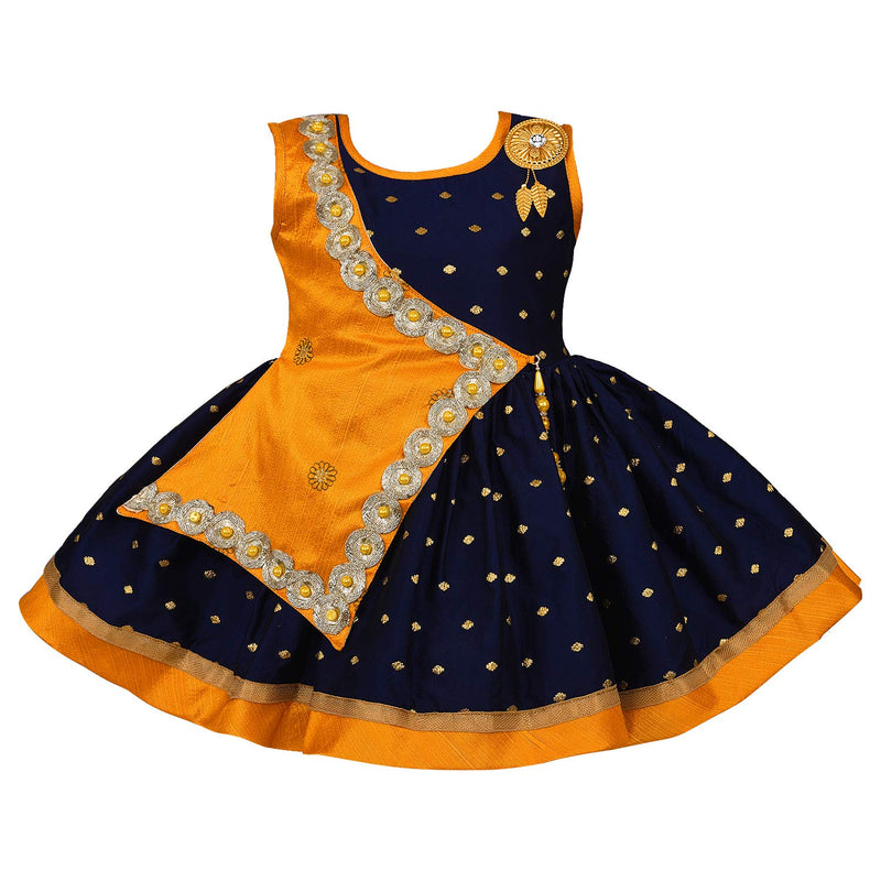 Baby Girls Party Wear Frock Birthday Dress For Girls fe2446org