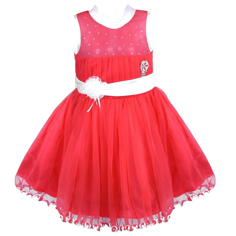 Baby Girls Party Wear Frock Dress Fr1014t -  Wish Karo Dresses