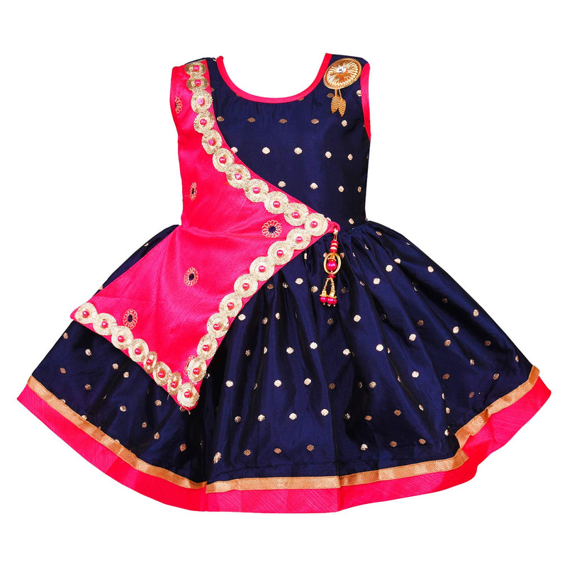 Baby Girls Party Wear Dress Birthday Frocks For Girls fe2446rani