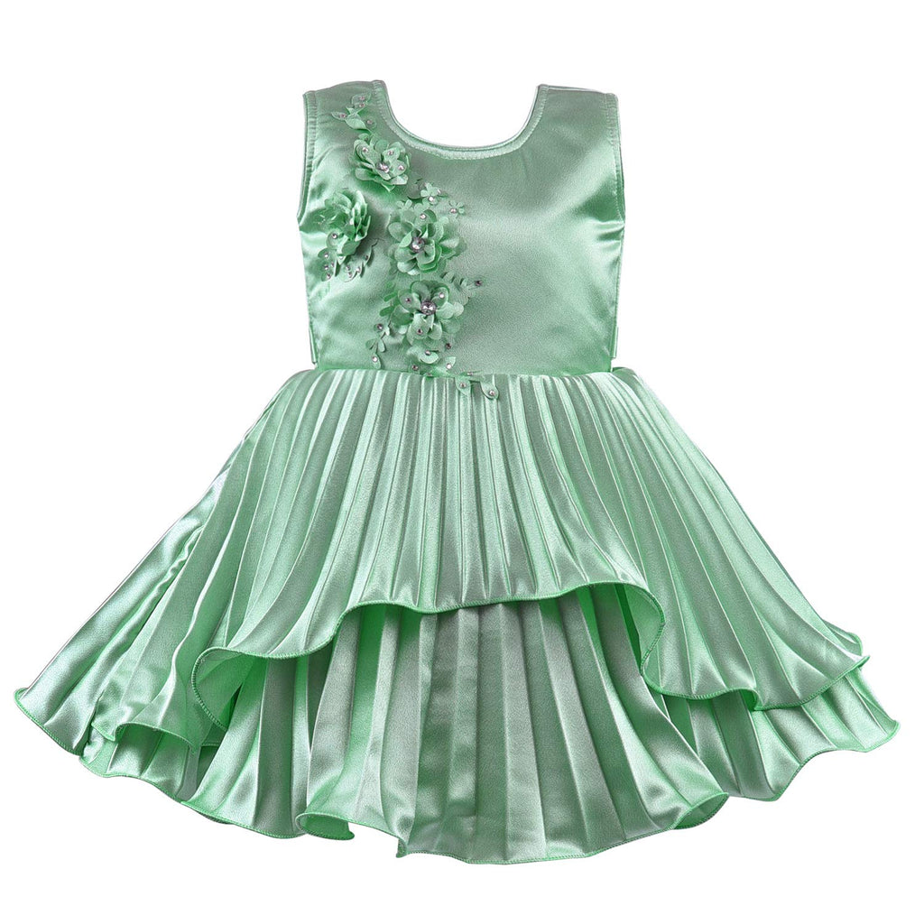 Baby Girls Party Wear Frock Birthday Dress For Girls bxa235sg