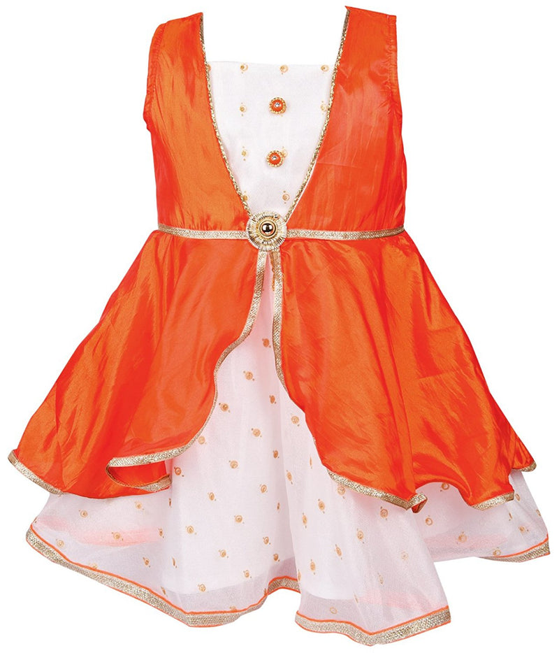 Baby Girls Party Wear Frock Dress fe2210org -  Wish Karo Dresses
