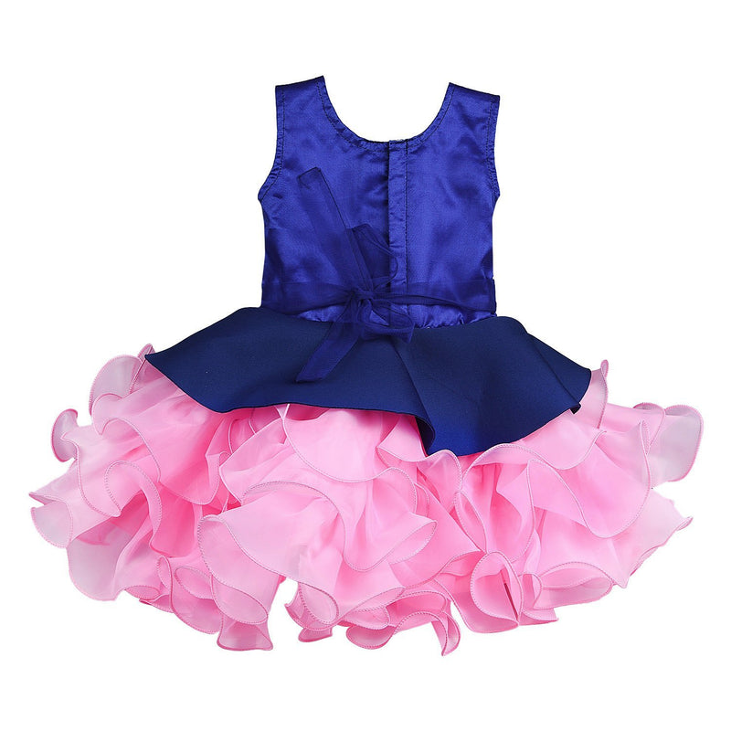 Baby Girls Party Wear Frock Dress Bxa158nb -  Wish Karo Dresses