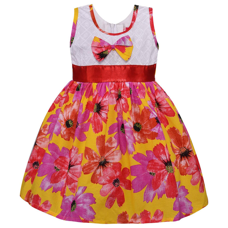 Baby Girls Cotton Frock Casual Dress for Girls ctn286y