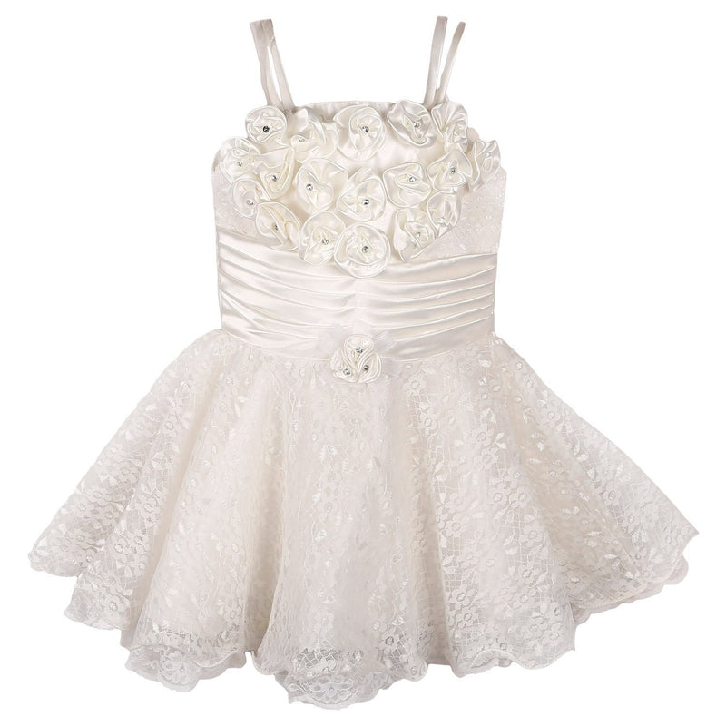 Baby Girls Party Wear Frock Dress Fr104WS -  Wish Karo Dresses