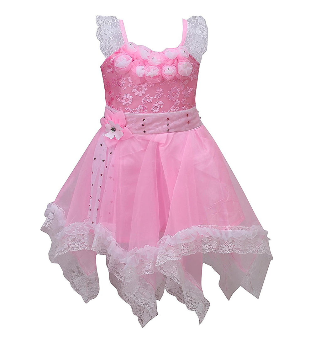 Baby Girls Party wear frock dress DN089p -  Wish Karo Dresses