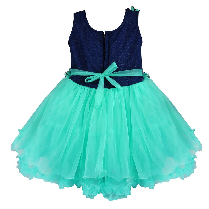 Baby Girls Party Wear Frock Dress Fr1006sg -  Wish Karo Dresses