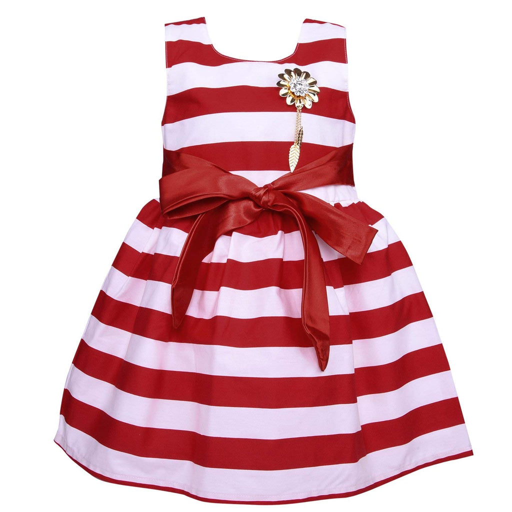 Baby Girls Party wear Frock Dress ctn265rd -  Wish Karo Dresses