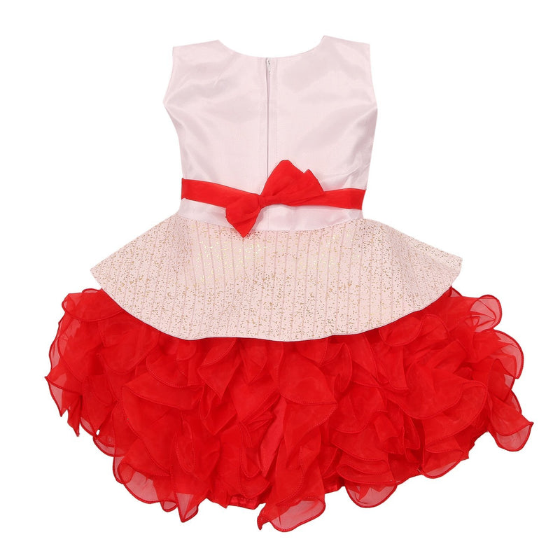 Baby Girls Party Wear Frock Dress Fe2439rd -  Wish Karo Dresses