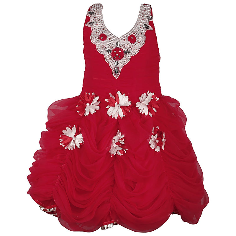 Baby Girls party wear Frock Dress FR 063m -  Wish Karo Dresses