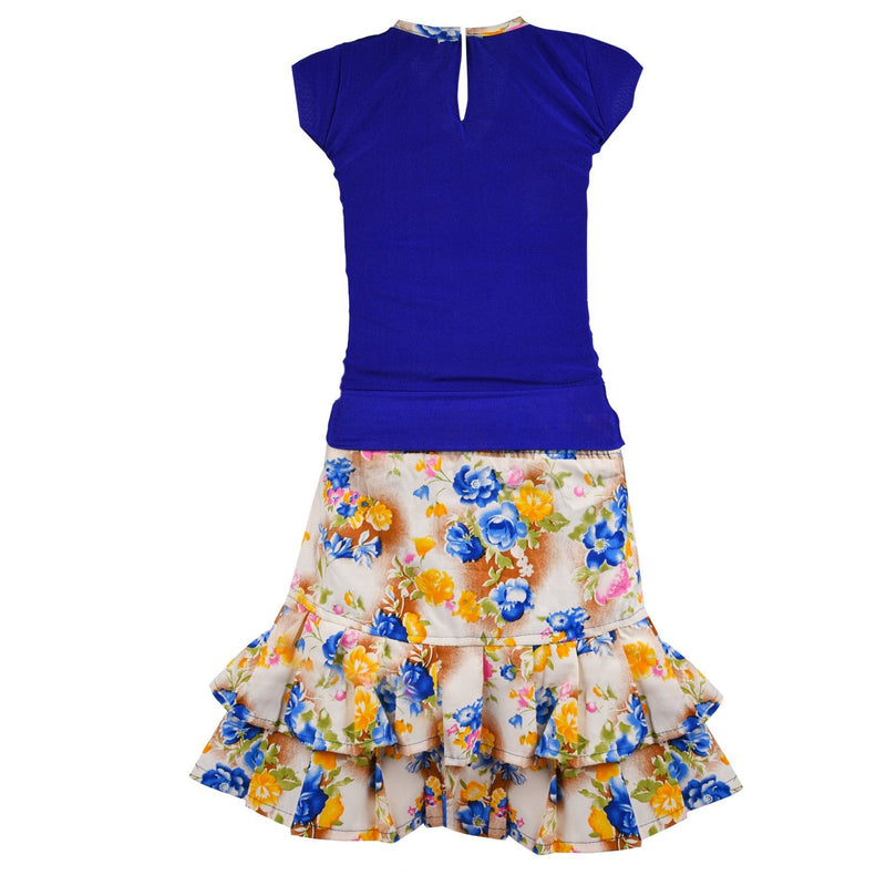 Baby Girl Casual Wear Skirt and Top Dress CSL040 -  Wish Karo Dresses