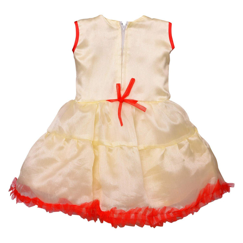 Baby Girls Net Partywear Frock Dress fe2627 -  Wish Karo Dresses