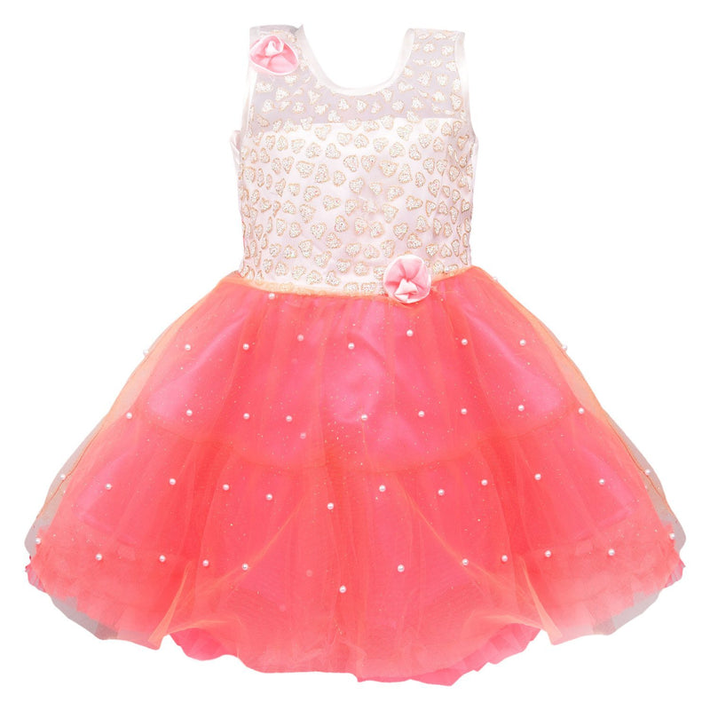 Baby Girls Party Wear Frock Dress Fe2215t -  Wish Karo Dresses