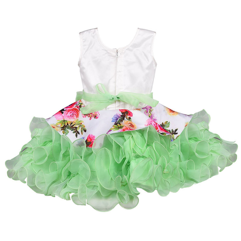 Baby Girls Party Wear Frock Dress Bxa158sg -  Wish Karo Dresses