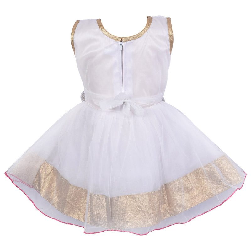 Baby Girls Frock Dress fr10pinknw -  Wish Karo Dresses