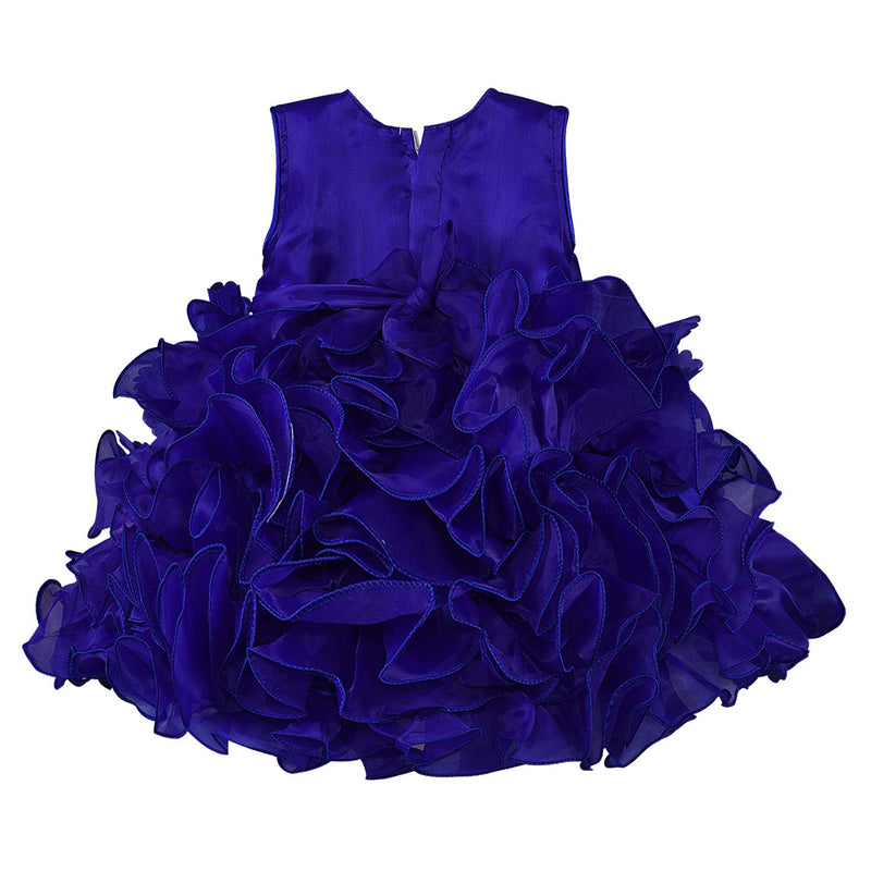 Baby Girls Frock Dress-fe2753blu