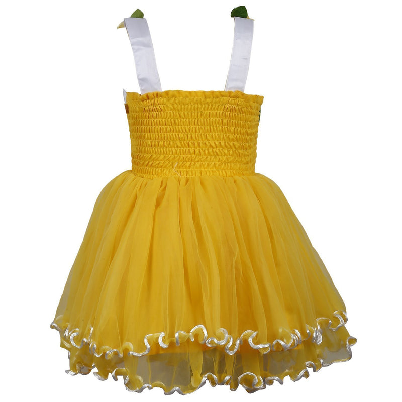 Baby Girls Party Wear Frock Dress DN195y -  Wish Karo Dresses