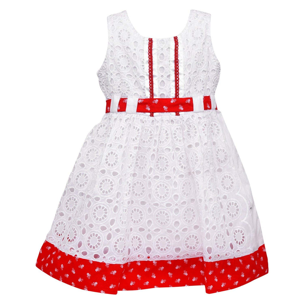 Baby Girls Party wear Cotton Frock Dress ctn263 -  Wish Karo Dresses