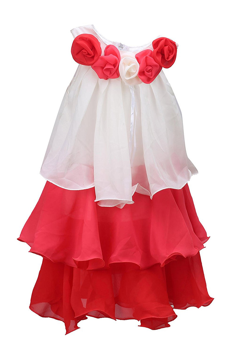 Baby Girls Party Wear Frock FR051T -  Wish Karo Dresses