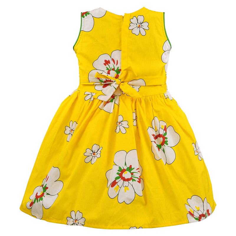 Baby Girls Cotton Frock Casual Dress for Girls-ctn016y