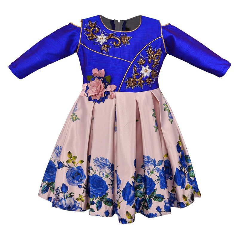 Baby Girls Party Wear Frock Birthday Dress For Girls fe2691rb