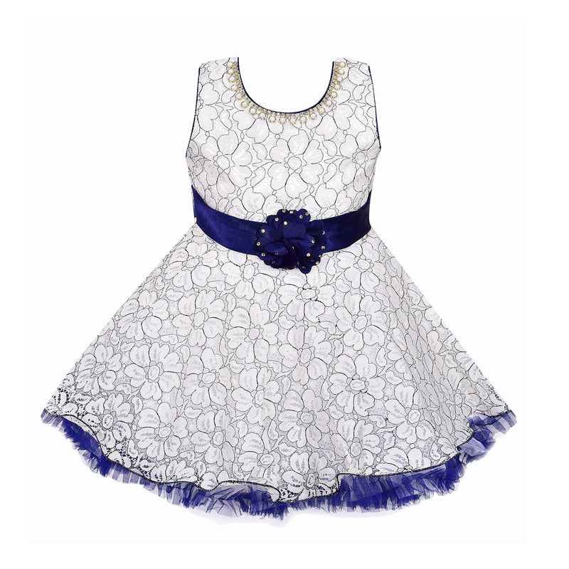 Baby Girls party wear Frock Dress bxa154 -  Wish Karo Dresses