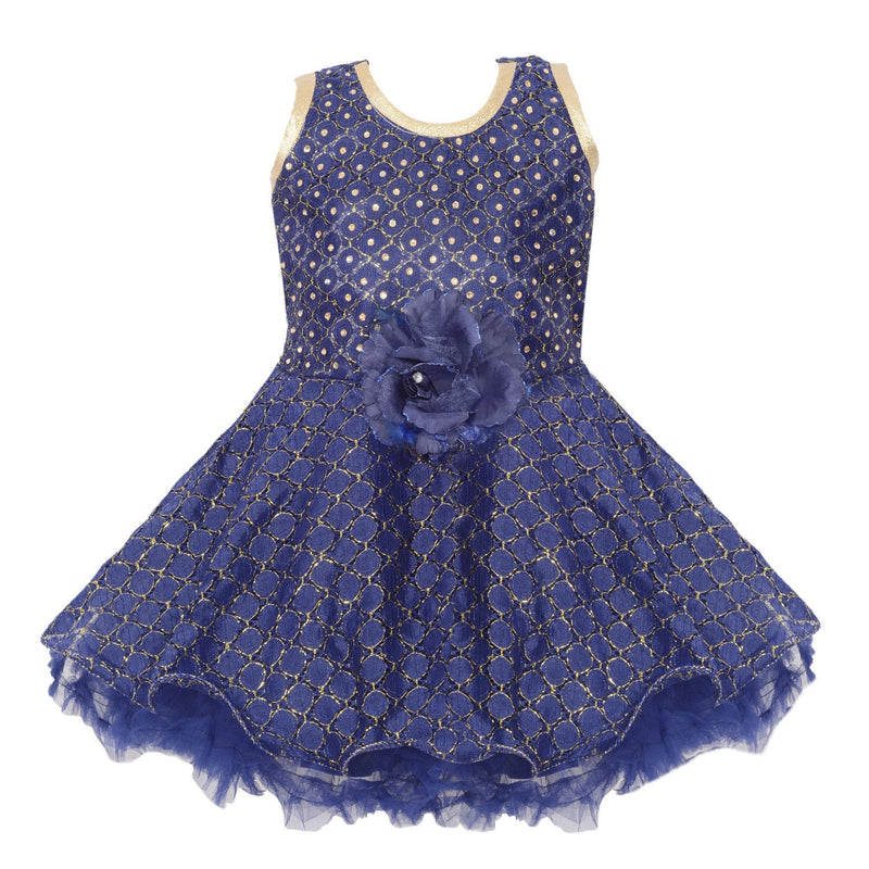 Baby Girls Party Wear Frock Dress fe2455nb -  Wish Karo Dresses