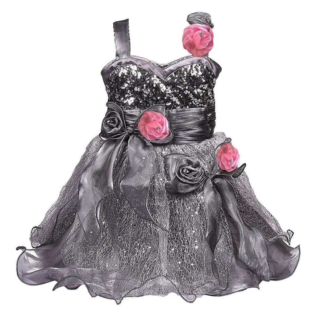 Baby Girls Party Wear Frock Dress Fr1004 -  Wish Karo Dresses