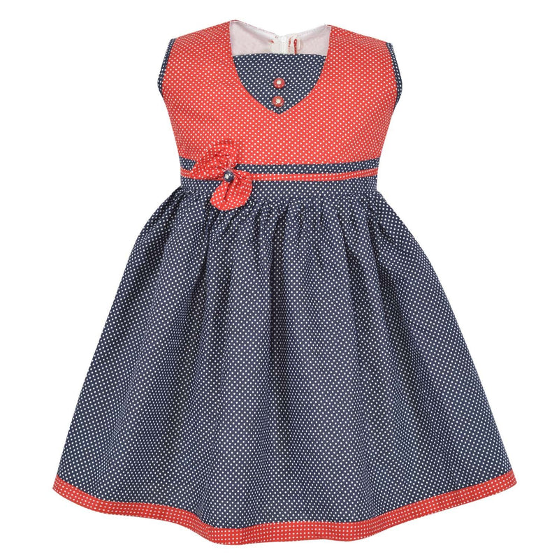 Baby Girls Dress ctn258nb -  Wish Karo Dresses